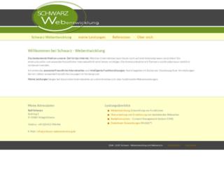 schwarz-webentwicklung.de screenshot