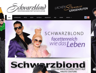 schwarzblond.com screenshot