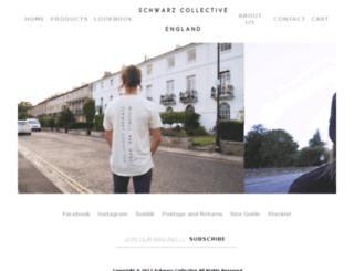 schwarzcollective.co.uk screenshot
