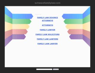 schwarzfamilylaw.com screenshot