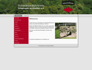 schwarzwaldverein-aichhalden.de screenshot