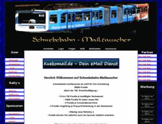 schwebebahn-mailtauscher.de screenshot