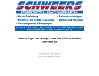 schweers-syke.de screenshot