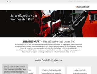 schweisskraft.de screenshot