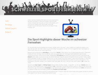 schweizersportfernsehen.ch screenshot