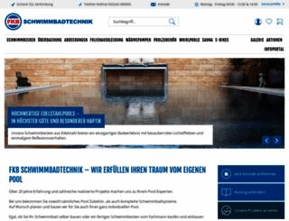 schwimmbadtechnik-fkb.de screenshot