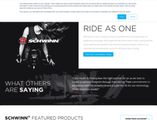 schwinnequipment.com screenshot