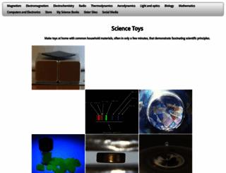 sci-toys.com screenshot