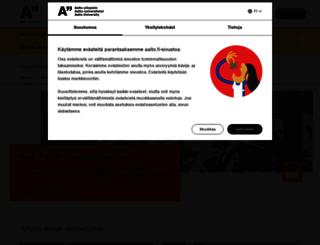 sci.aalto.fi screenshot