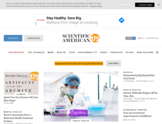 sciam.com screenshot