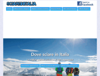 sciareinitalia.it screenshot