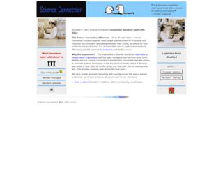 sciconnect.com screenshot