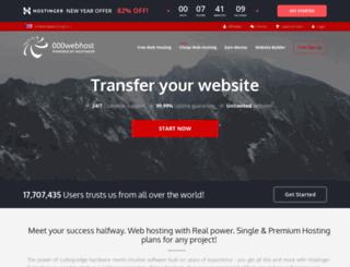 scie.webatu.com screenshot