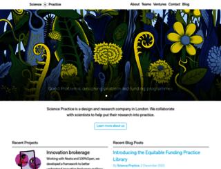 science-practice.com screenshot