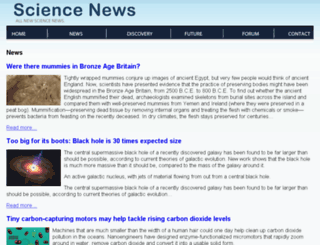science-universal.com screenshot