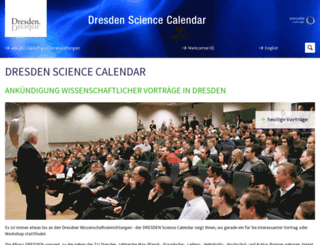 science.dresden.de screenshot