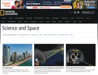 science.nationalgeographic.com.au screenshot