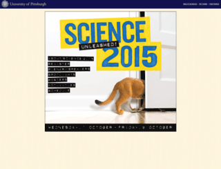 science2015.pitt.edu screenshot