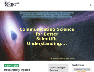 scienceage.org screenshot