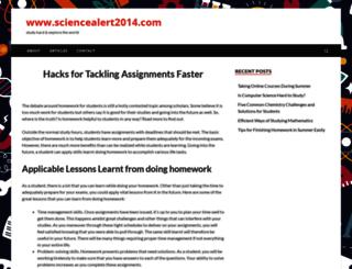 sciencealert2014.com screenshot