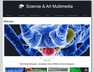 scienceandart.org screenshot