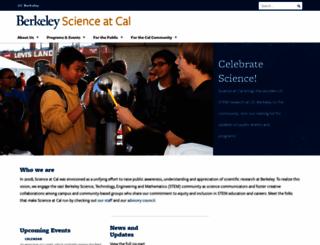 scienceatcal.berkeley.edu screenshot
