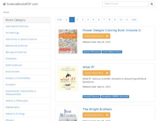 sciencebookspdf.com screenshot