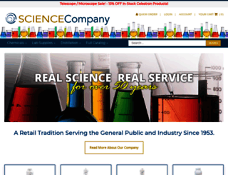 sciencecompany.com screenshot