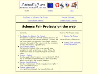 sciencefairproject.virtualave.net screenshot