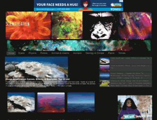 scienceheathen.com screenshot