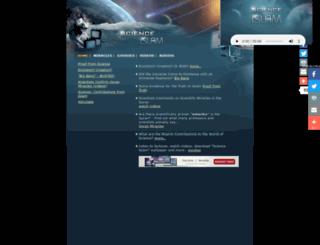 scienceislam.com screenshot