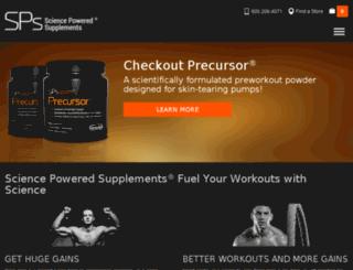 sciencepowered.com screenshot
