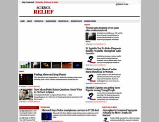 sciencerelief.blogspot.com screenshot