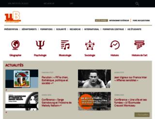 sciences-humaines.u-bourgogne.fr screenshot