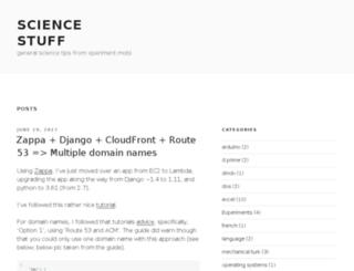 sciencestuff.xperiment.mobi screenshot