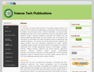 sciencetechpub.com screenshot