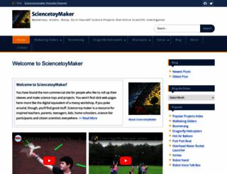 sciencetoymaker.org screenshot