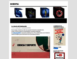 scientia1.wordpress.com screenshot