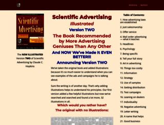 scientificadvertising.com screenshot
