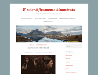 scientificamente.wordpress.com screenshot