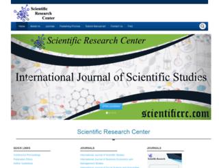 scientificrc.com screenshot