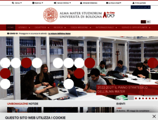 scienzeagrarie.unibo.it screenshot