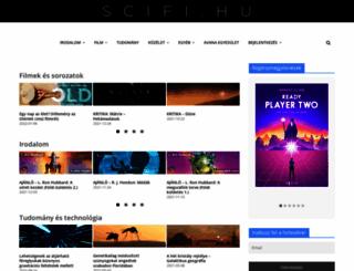 scifi.hu screenshot