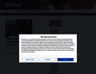 scifinow.co.uk screenshot