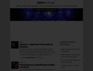 scilogs.com screenshot