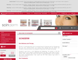 scinderm.co.za screenshot
