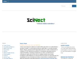 scinect.wordpress.com screenshot