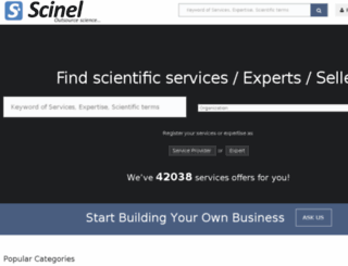 scinel.com screenshot