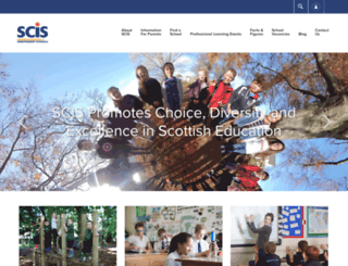 scis.org.uk screenshot