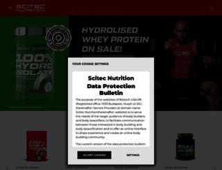 scitecnutrition.com screenshot